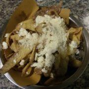 Bucce di patata fritte con percorino